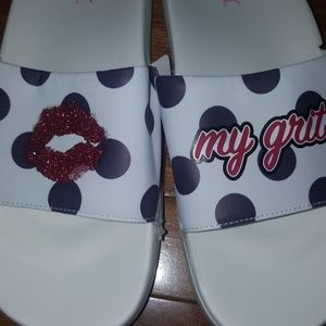 Sugar Sandal Slides